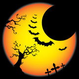 Halloween Background Template Royalty Free Stock Photo