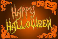 Halloween Background text Royalty Free Stock Photo