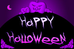 Halloween Background text Stock Image