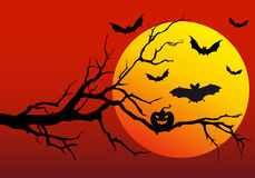 Halloween background, vector Royalty Free Stock Photography