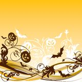 Halloween background, vector Royalty Free Stock Photo