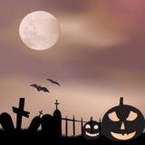 Halloween background vector Stock Photography
