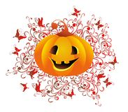 Halloween background. Vector illustration royalty free stock photo