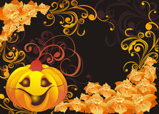Halloween background. Vector illustration royalty free stock images