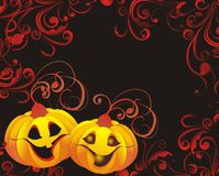 Halloween background. Vector illustration stock photos