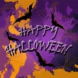 Halloween background. Vector illustration. Stock Photo