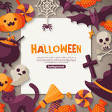 Halloween Background. Vector Illustration Stock Images