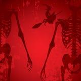 Halloween background vector illustration Royalty Free Stock Photo
