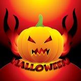 Halloween background vector illustration Stock Photos