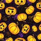 Halloween background. vector illustration. Stock Photo