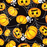 Halloween background. vector illustration. Royalty Free Stock Photos