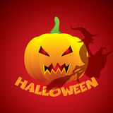 Halloween background vector illustration Royalty Free Stock Images