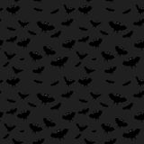 Halloween background. Halloween vector seamless abstract dark background with bat royalty free illustration