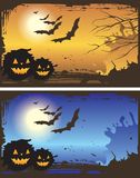 Halloween backgrounds. Vector illustration of halloween backgrounds Vector Illustration