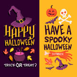 Halloween Backgrounds Royalty Free Stock Images