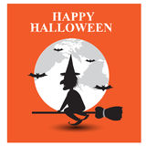 Halloween backgrounds. Vector illustration Royalty Free Stock Photography