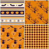 Halloween backgrounds. Vector illustration. Royalty Free Stock Image