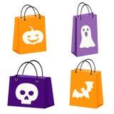 Halloween bags Stock Photos