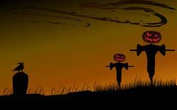 Halloween baja fondo libre illustration