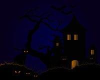 Halloween-bakcgroud Lizenzfreie Stockfotografie