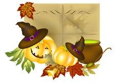Halloween bakgrund Vektor Illustrationer