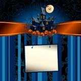 Halloween bakgrund Royaltyfri Fotografi