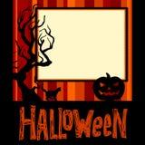 Halloween bakgrund Fotografering för Bildbyråer