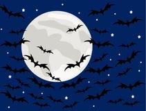 Halloween bakgrund Royaltyfri Foto