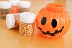 Halloween Baking Fun Royalty Free Stock Photography