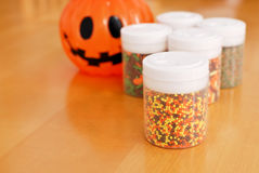 Halloween Baking Prep Royalty Free Stock Photo