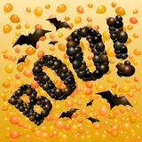 Halloween balloons Royalty Free Stock Photo