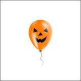 Halloween balonu kartka z pozdrowieniami Fotografia Stock