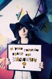 halloween bania przygotowywał twój Zdjęcia Royalty Free