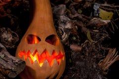 Halloween bania z paleń oczami Obraz Stock