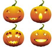 halloween banie ustawiać ilustracji