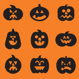 halloween banie ustawiać Obraz Royalty Free
