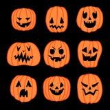 halloween banie ustawiać Fotografia Royalty Free