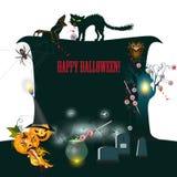 Halloween banner Royalty Free Stock Photo