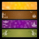 Halloween banner. For fun, pleasure Royalty Free Stock Image