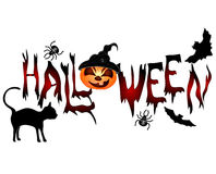 Halloween banner Royalty Free Stock Photos
