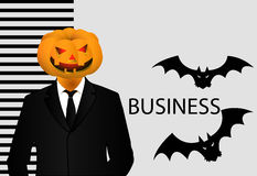 Halloween banner for business Royalty Free Stock Photos
