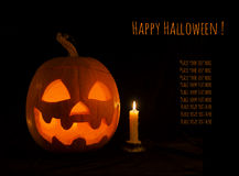 Halloween banner 3 Stock Images