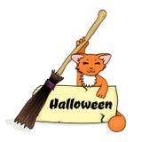 Halloween banner Stock Photography