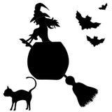 Halloween banner Stock Images