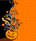Halloween banner Stock Photos