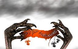 Halloween Banner Stock Photos