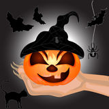 Halloween banner Royalty Free Stock Photo