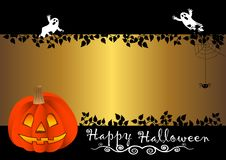 Halloween banner. vector. Stock Image
