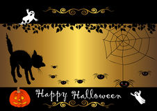 Halloween banner. vector. Royalty Free Stock Photography
