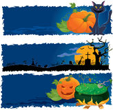Halloween banners. Vector illustration. Part 3 stock illustration